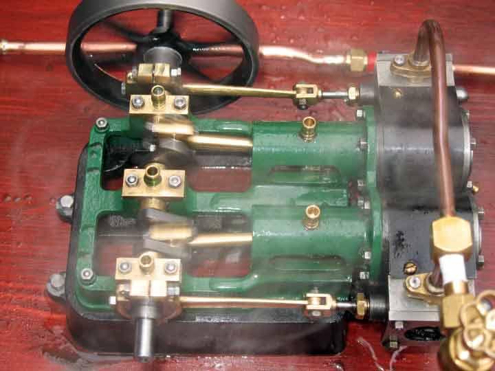 vrai faux moteur à vapeur St